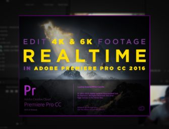 How To Edit Raw 4K+ Footage in Premiere Using Proxies